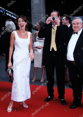 Claire Sweeney, Dean Sullivan and Michael Starke Brookside 1999