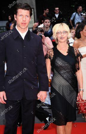 Lloyd Owen and Emma Chambers - Bafta 1999