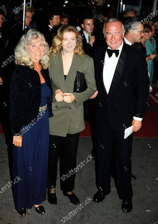 Stock Photo of William Franklyn and family c.1990