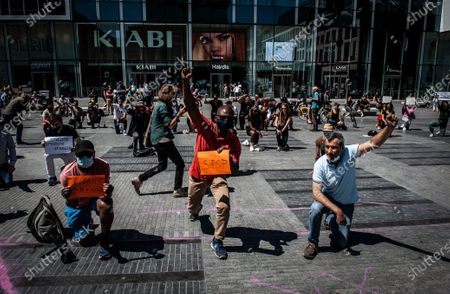 Black Lives Matter protests, Brussels