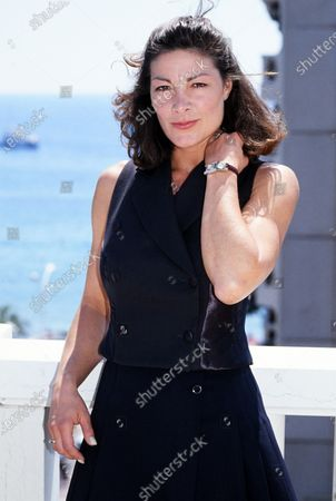 Stock Picture of Mimi Lesseos - Cannes 1995