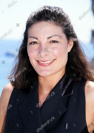 Stock Photo of Mimi Lesseos - Cannes 1995