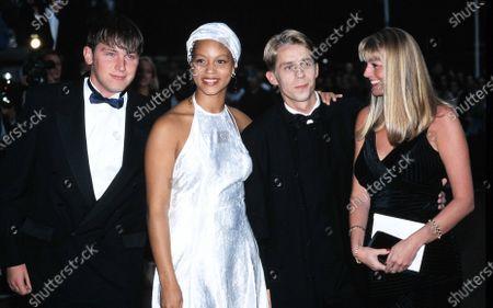 Angela Griffin and Nicholas Cochrane 1995