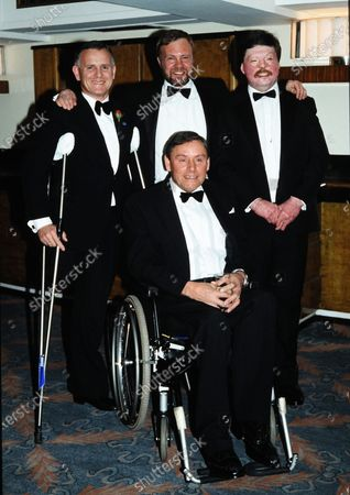 Stock Picture of L_R Brian Cleaver, Dick Thompson, Norman Croucher and Simon Weston c.1995