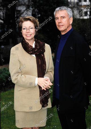 Princess Christina, Mrs. Magnuson and Simon Mottram 1995