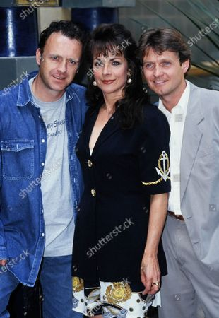 Paul Usher, Mary Tamm and Steven Pinder Brookside 1994