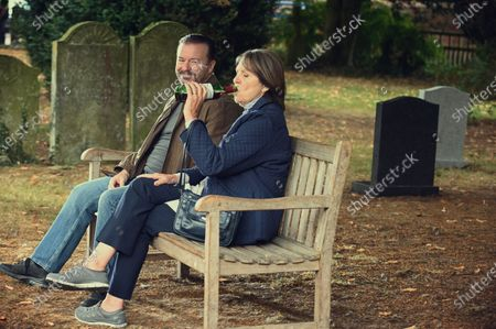 Kerry Gervais as Tony and Penelope Wilton as Anne