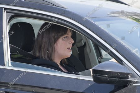 Labour MP Jess Phillips Is seen arriving at The Houses of Parliament in London ahead of a 90-minute debate on the new voting system and a series of votes this afternoon. Government has introduced further measures to slowly ease lockdown, which was introduced to fight the spread of the COVID-19 strain of coronavirus.