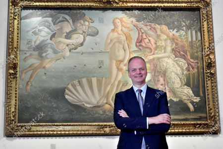 Eike D. Schmidt the director of the Uffizi Gallery Museum