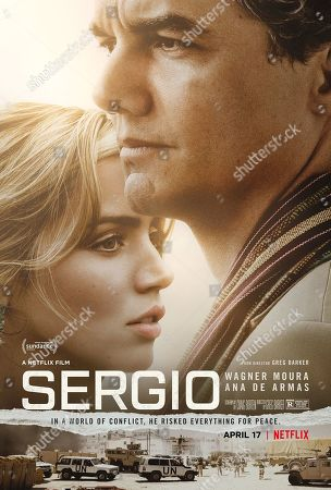 Sergio Film (2020) Ana de Armas as Carolina Larriera and Wagner Moura as Sergio Vieira de Mello