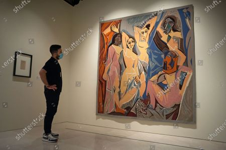 """Editorial picture of Exhibition of 'Dialogues with Picasso"""" in Malaga, Spain - 2 May 2020"""