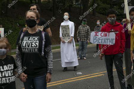 Editorial photo of America Protests , Washington, United States - 02 Jun 2020