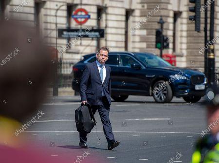 Editorial image of MPs return to Parliament, London, UK - 02 Jun 2020