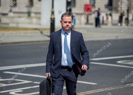 Stock Picture of Nigel Adams returns to Parliament