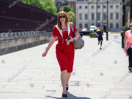 Angela Rayner returns to Parliament