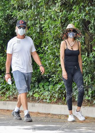 Editorial image of Lisa Rinna and Harry Hamlin out and about, Los Angeles, USA - 02 Jun 2020