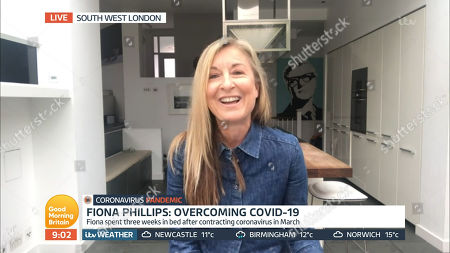 Stock Image of Fiona Phillips