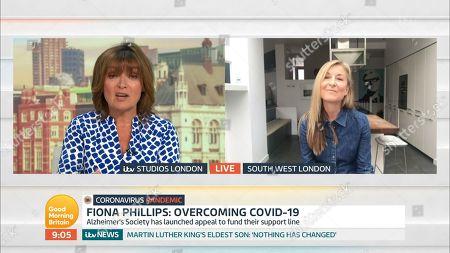 Editorial photo of 'Good Morning Britain' TV Show, London, UK - 03 Jun 2020