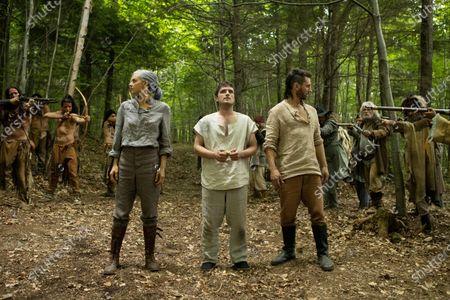 Eliza Coupe as Tiger, Josh Hutcherson as Josh Futturman and Derek Wilson as Wolf
