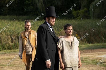 Derek Wilson as Wolf, Nick Wyman as Abraham Lincoln and Josh Hutcherson as Josh Futturman