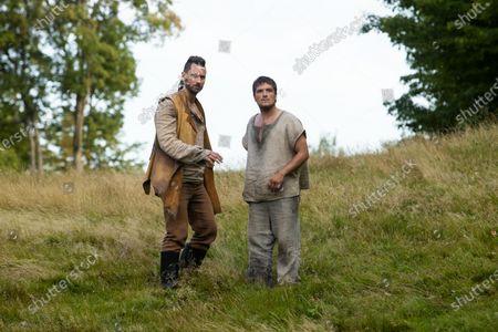 Derek Wilson as Wolf and Josh Hutcherson as Josh Futturman