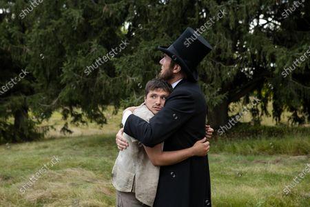 Josh Hutcherson as Josh Futturman and Nick Wyman as Abraham Lincoln
