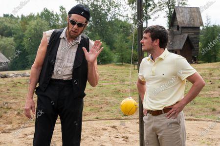 Nick Wyman as Abraham Lincoln and Josh Hutcherson as Josh Futturman