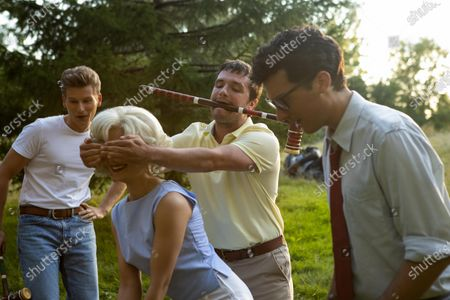 Paul Zinno as James Dean, Holly Deveaux as Marilyn Monroe, Josh Hutcherson as Josh Futturman and Massimo Diem as Buddy Holly