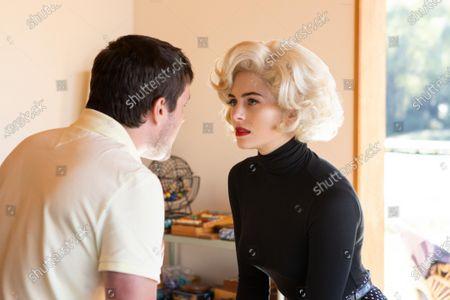 Josh Hutcherson as Josh Futturman and Holly Deveaux as Marilyn Monroe
