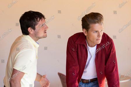Josh Hutcherson as Josh Futturman and Paul Zinno as James Dean