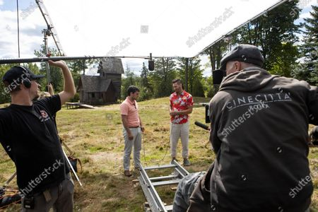 Josh Hutcherson as Josh Futturman and Derek Wilson as Wolf
