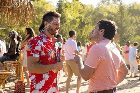 Stock Photo of Derek Wilson as Wolf and Josh Hutcherson as Josh Futturman