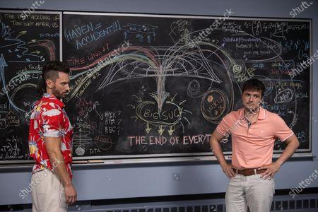 Stock Picture of Derek Wilson as Wolf and Josh Hutcherson as Josh Futturman