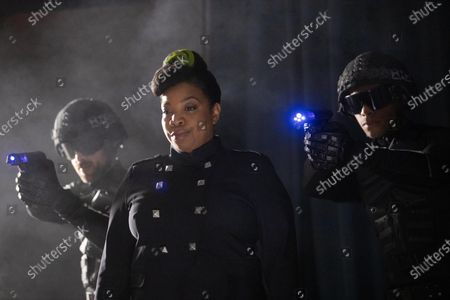 Stock Picture of Kimberly Hebert Gregory as Mathers