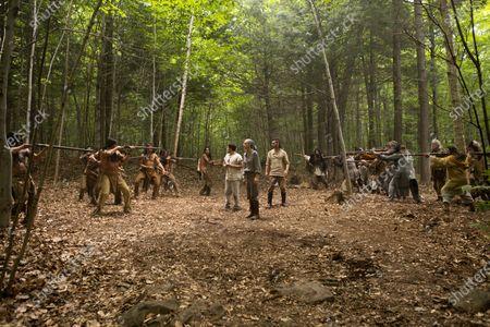 Josh Hutcherson as Josh Futturman, Eliza Coupe as Tiger and Derek Wilson as Wolf