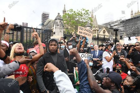 Editorial picture of London - Protest against Police brutality in USA, United Kingdom - 03 Jun 2020