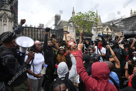 Editorial photo of London - Protest against Police brutality in USA, United Kingdom - 03 Jun 2020
