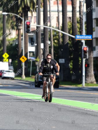 Editorial image of Arnold Schwarzenegger out and about, Los Angeles, USA - 03 Jun 2020