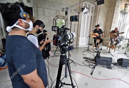 Editorial photo of Cuban artists offer concerts via streaming, Havana, Cuba - 03 Jun 2020