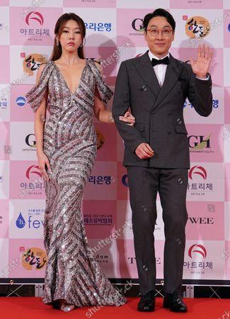 Stock Picture of Han Hye-jin, Lee Hwi-jae