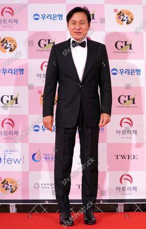 Stock Image of Ahn Sung-ki