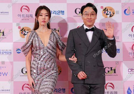 Stock Photo of Han Hye-jin, Lee Hwi-jae