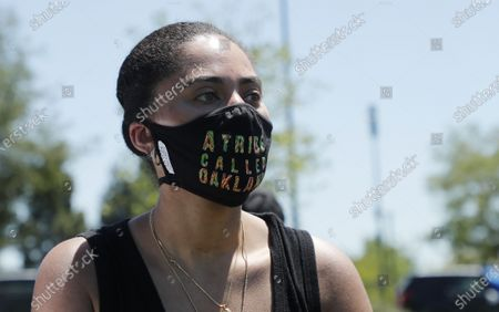 Editorial image of California protest in wake of George Floyd death in Minneapolis, Oakland, USA - 03 Jun 2020