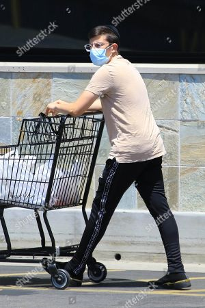 Editorial image of Christopher Mintz-Plasse out and about, Los Angeles, USA - 03 Jun 2020