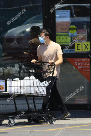 Editorial picture of Christopher Mintz-Plasse out and about, Los Angeles, USA - 03 Jun 2020