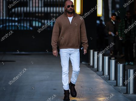 Editorial picture of On the street of Milan, Milan, Italy, Italy - 11 Jan 2020