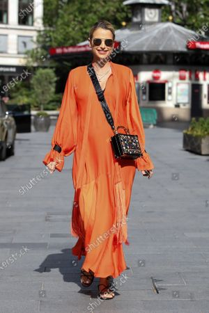 Stock Image of Vogue Williams at Global Radio
