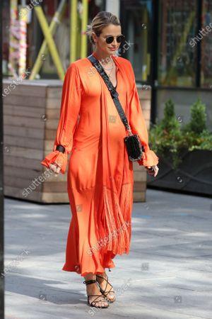 Vogue Williams at Global Radio