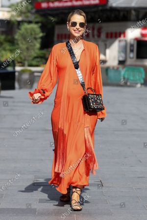 Stock Picture of Vogue Williams at Global Radio