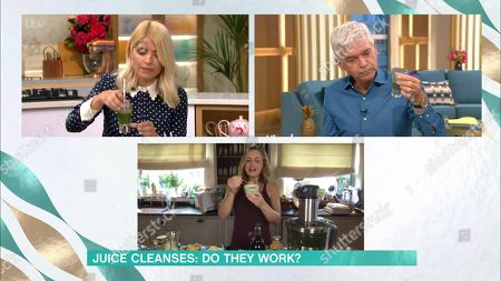 Phillip Schofield, Holly Willoughby and Liz Earle